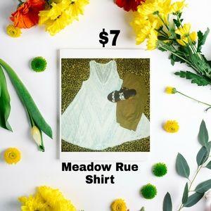 Meadow Rue Shirt👚